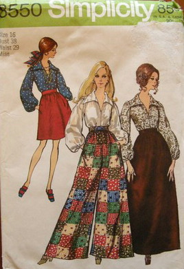 skirt pants blouse sewing pattern