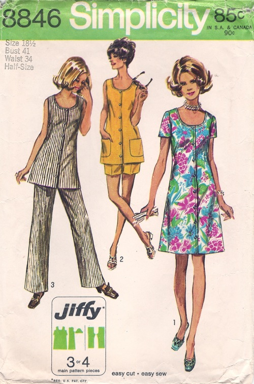 jiffy pants dress tunic sewing pattern