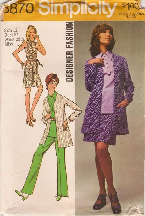 blouse skirt pants jacket sewing pattern
