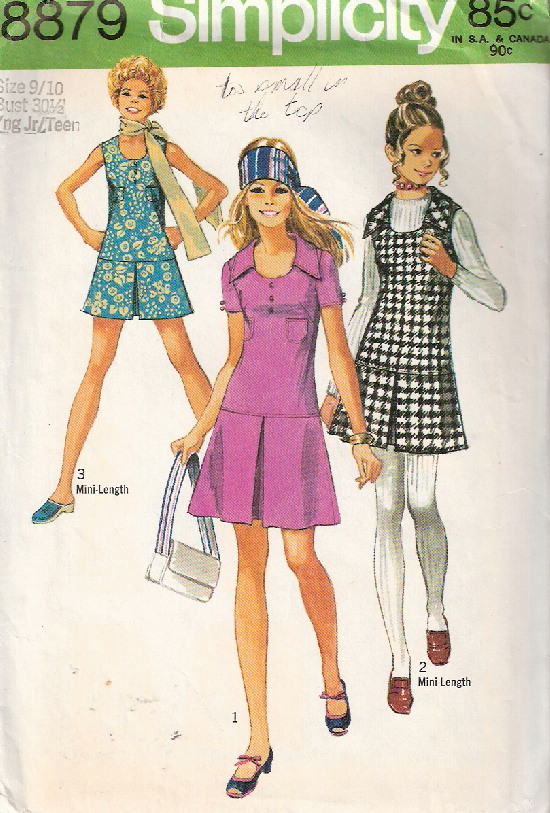 dress jumper sewing pattern
