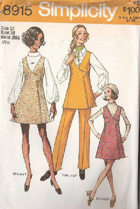 jumper tunic pants sewing pattern