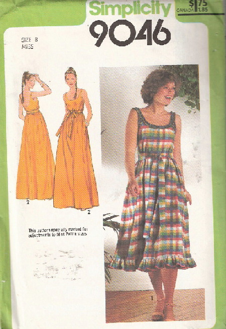 sundress sewing pattern
