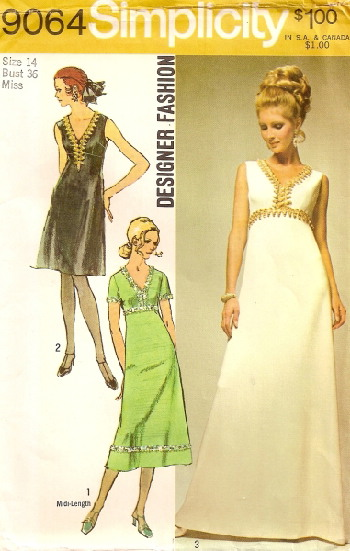 dress sewing pattern