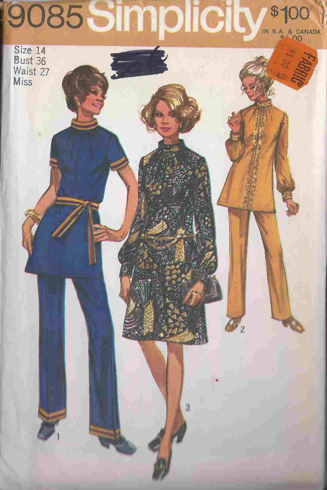 dress pants tunic sewing pattern