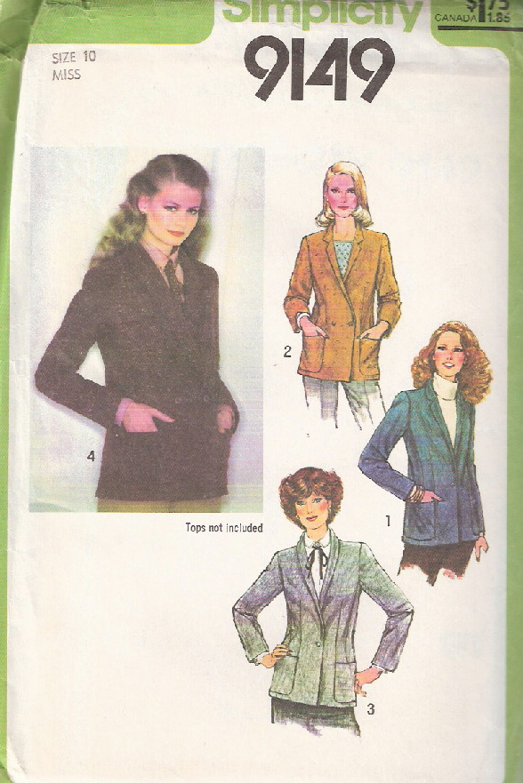 blazer sewing pattern