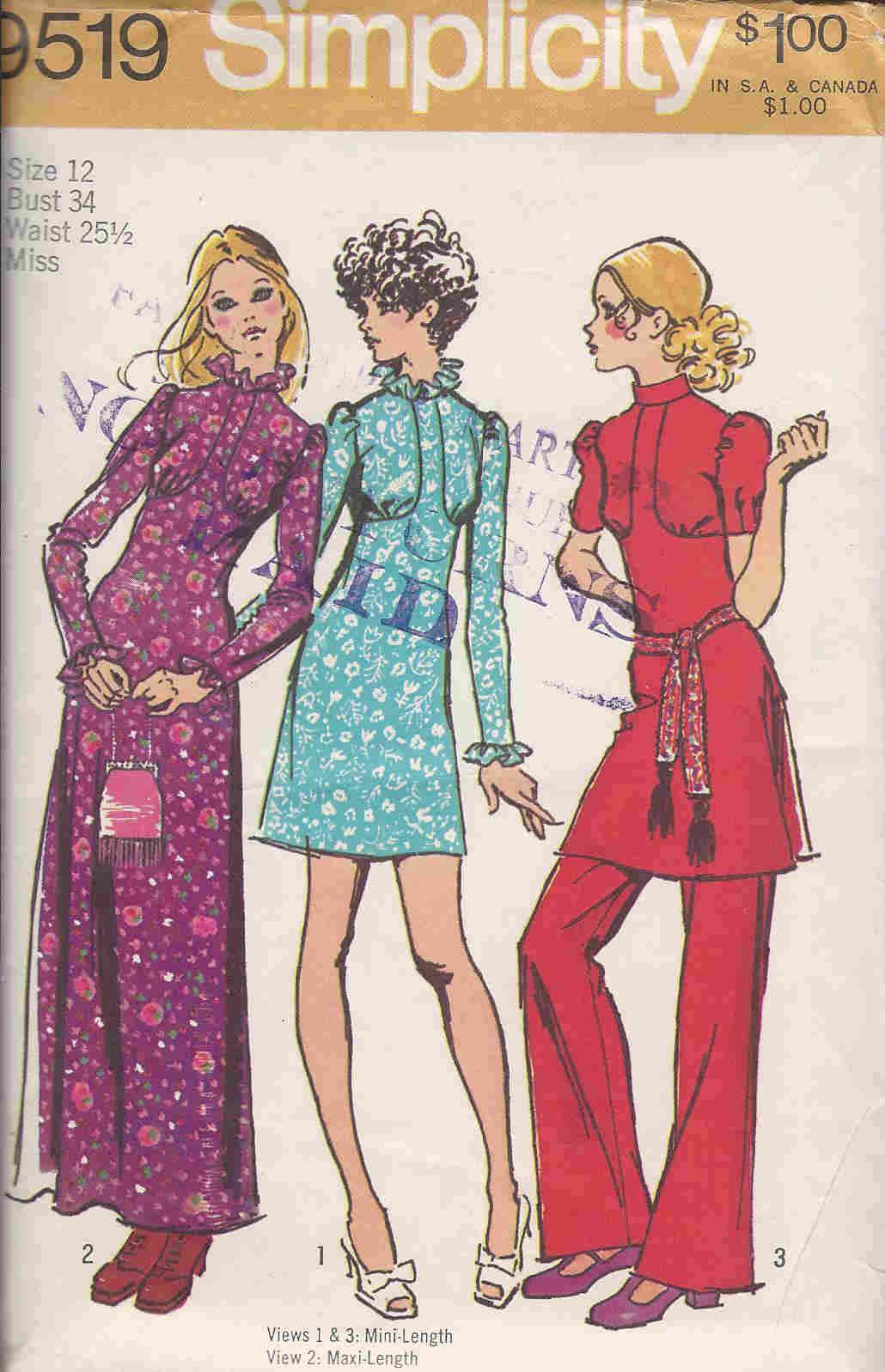 dress pants sewing pattern