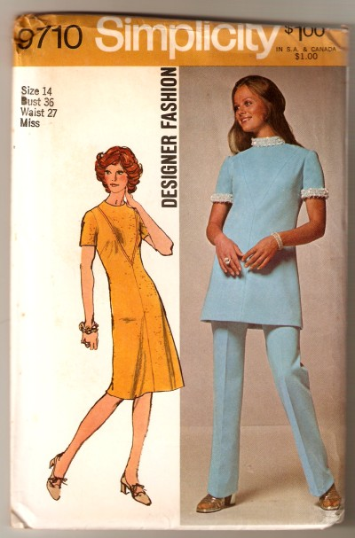 dress tunic pants sewing pattern