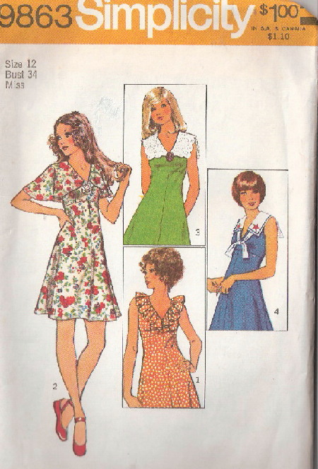 mini dress sewing pattern