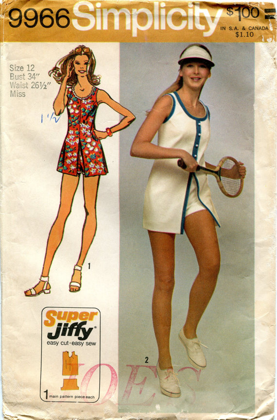 jiffy mini dress shorts sewing pattern