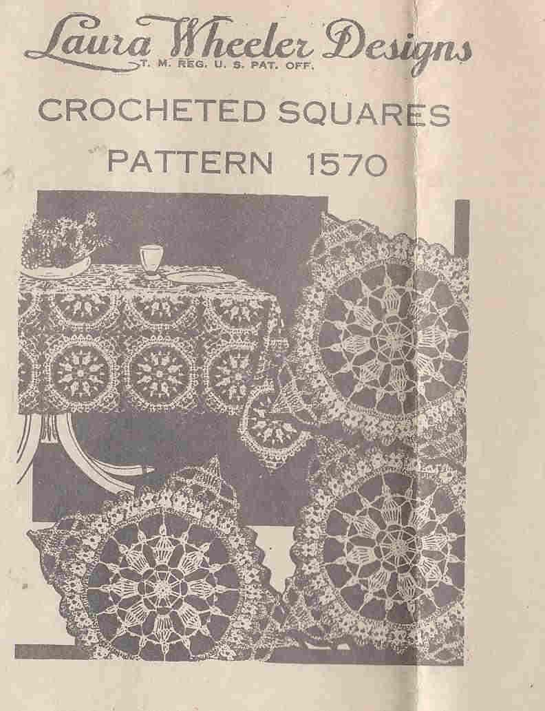 laura wheeler pillow crochet pattern