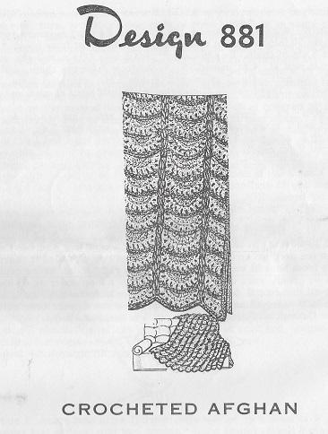 crochet afghan pillow pattern