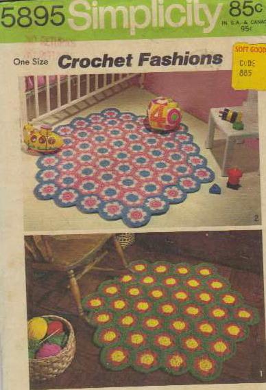 rug crochet pattern