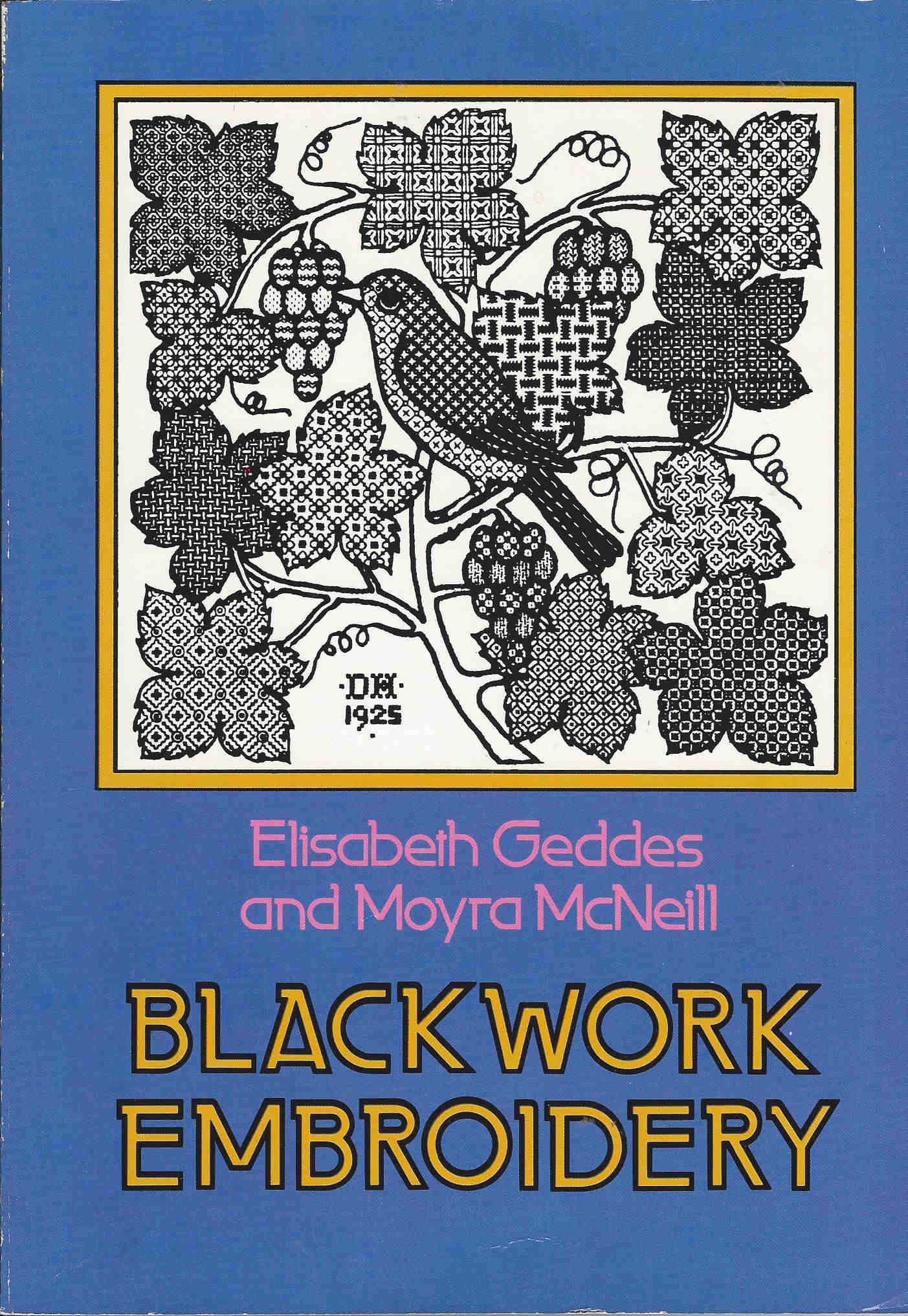 blackwork embroidery stitches book