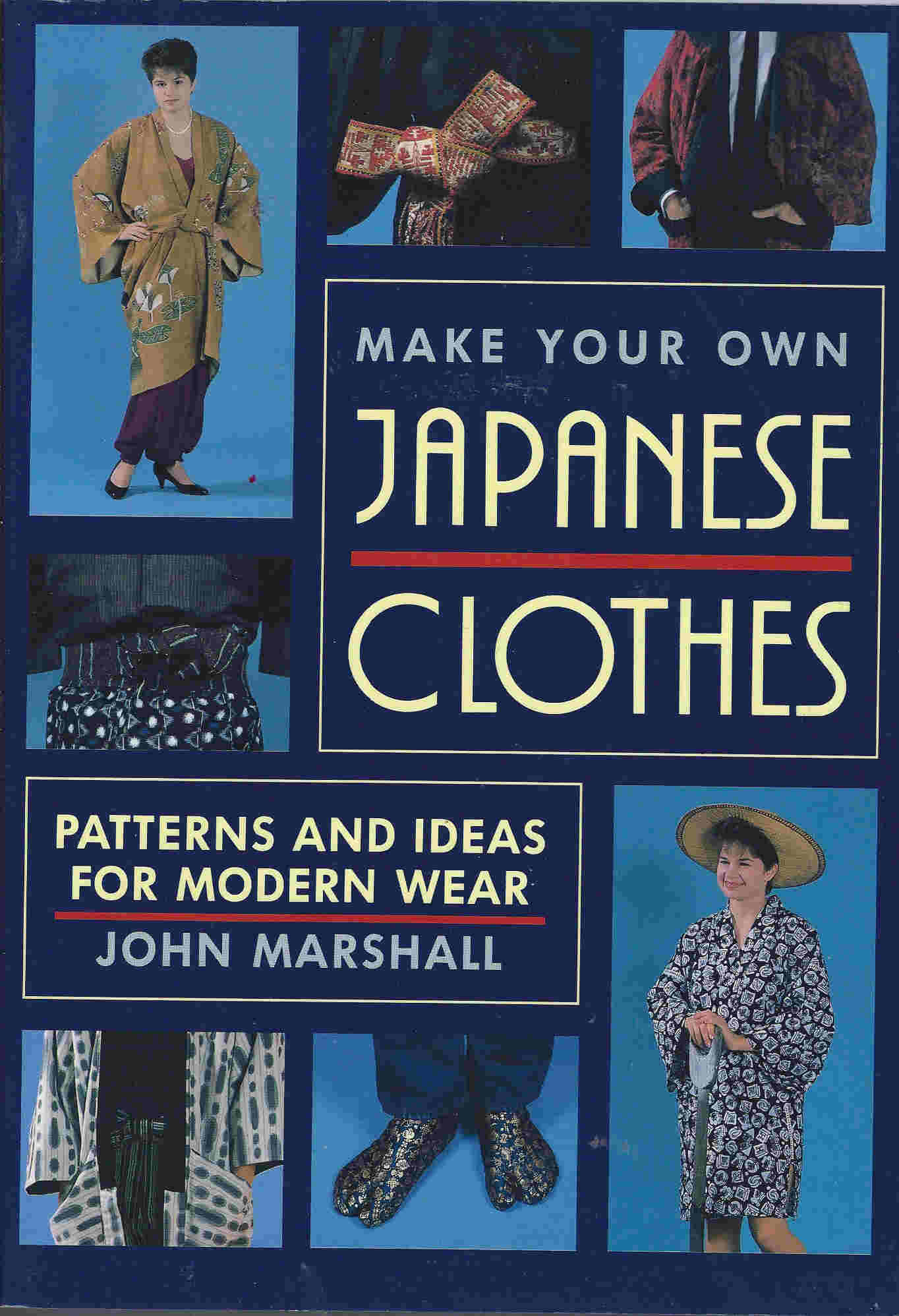 japanese costume sewing pattern