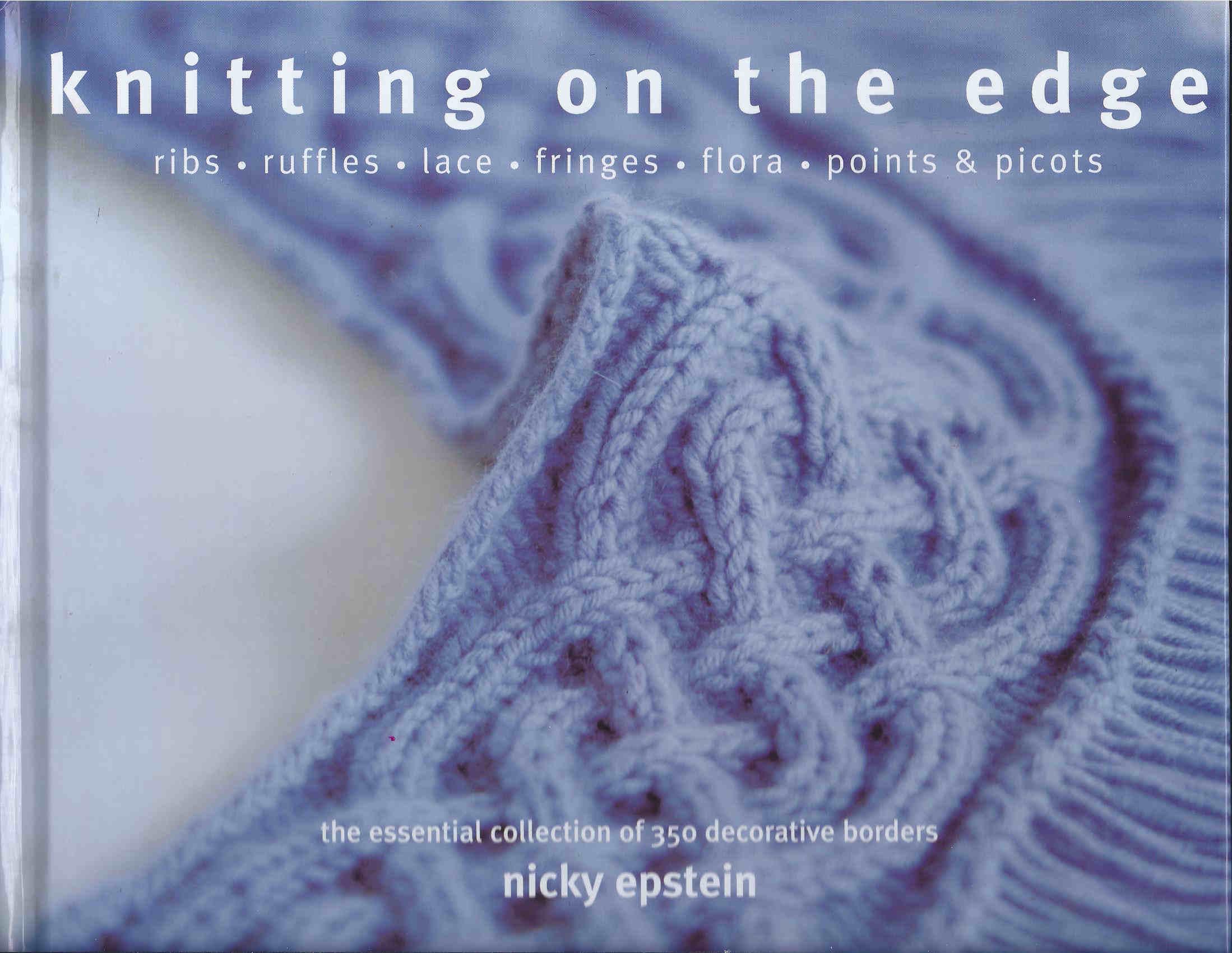 borders knitting pattern
