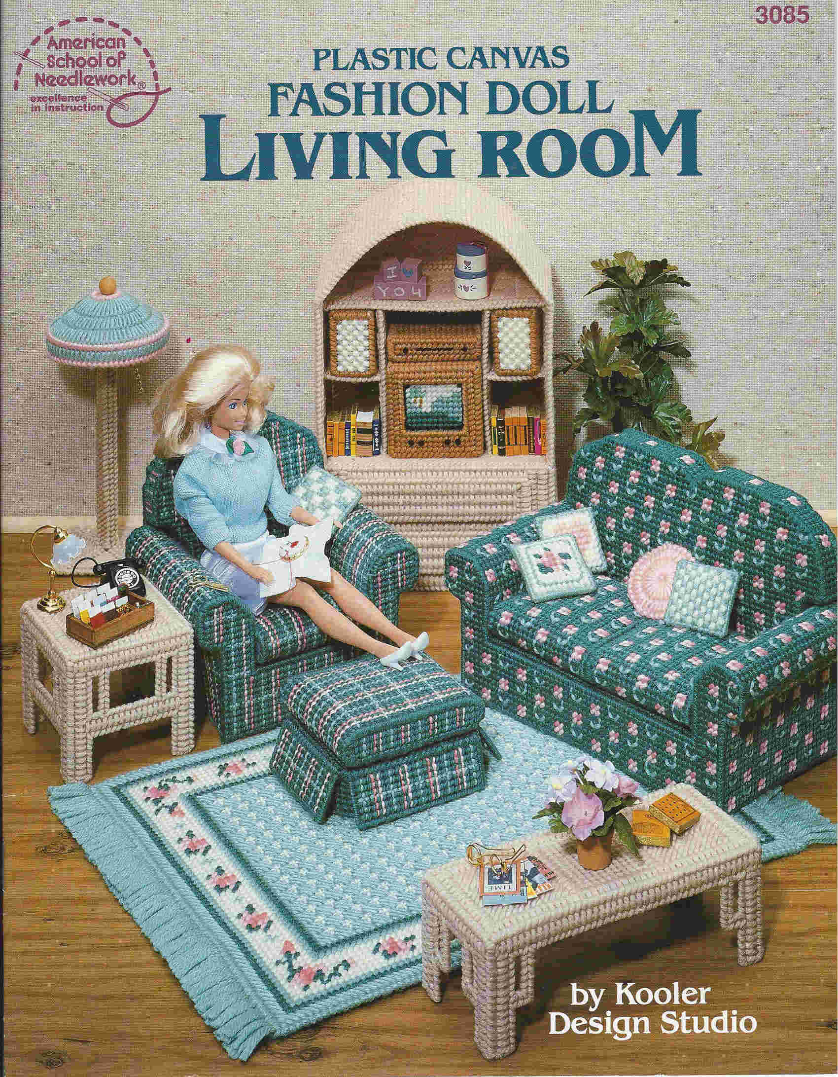 plastic canvas furniture sewing pattern fashion dolls