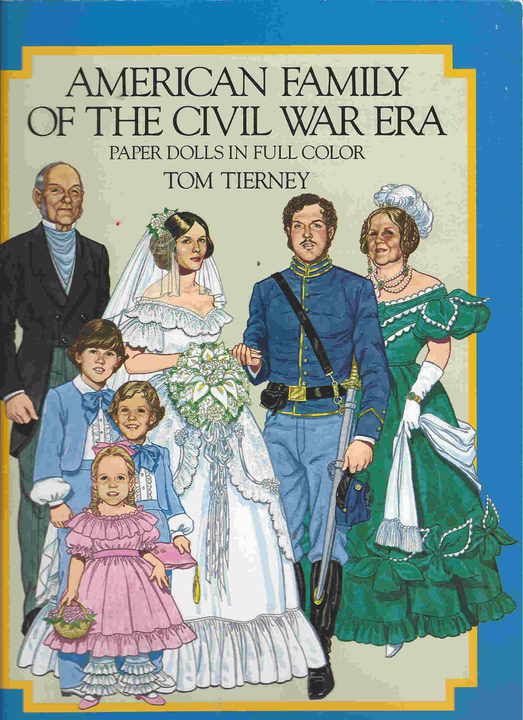 civil war tom tierney paper dolls