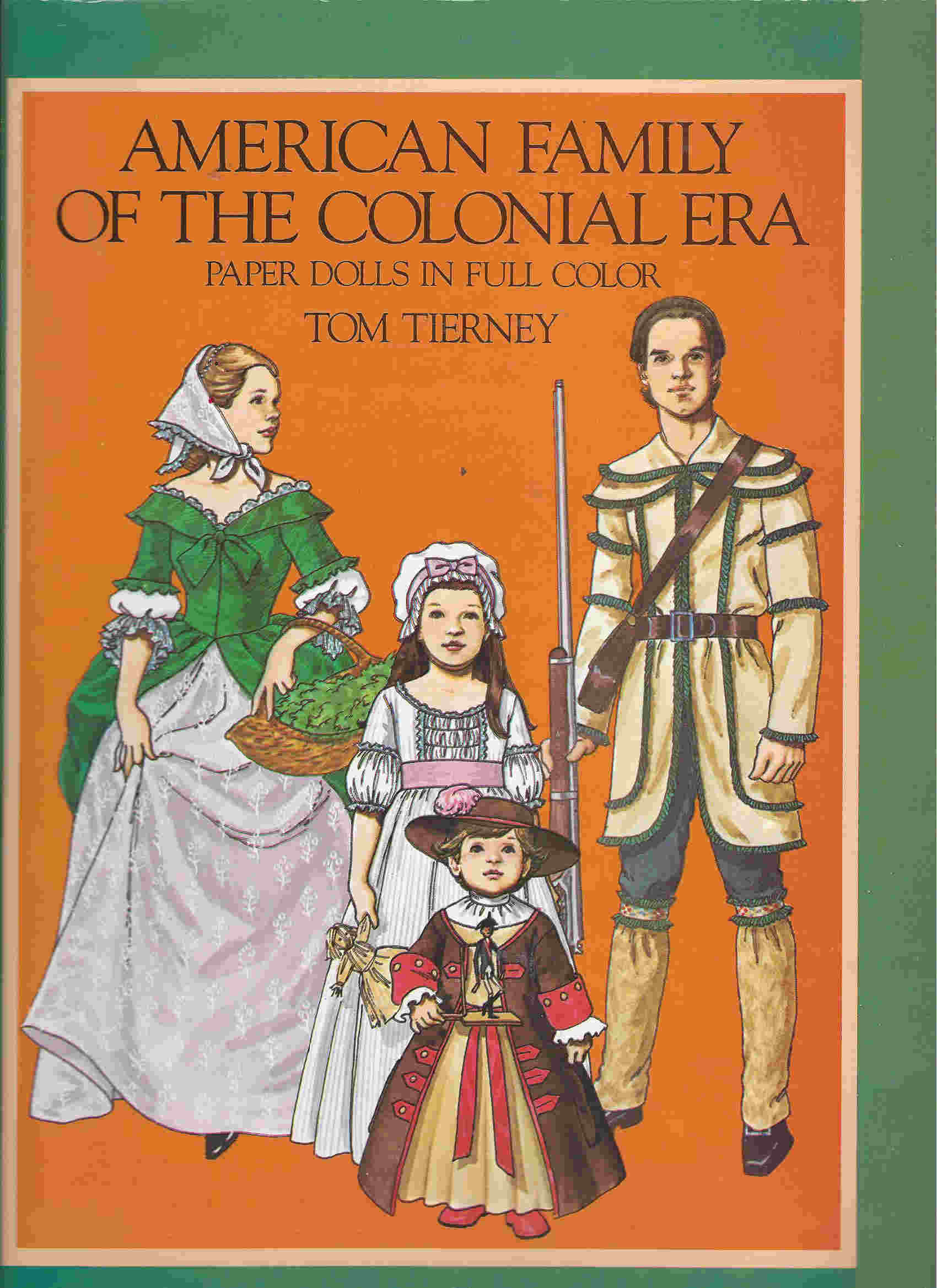 Tom tierney colonial fashions paper dolls - American Colonial Tom Tiernet Paper Dolls