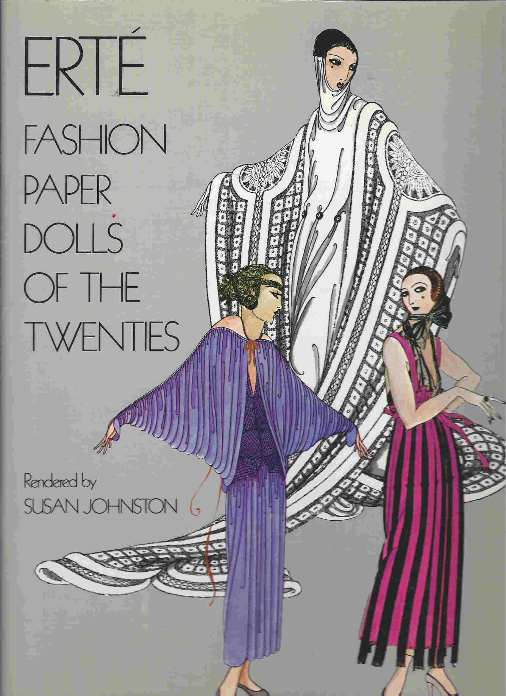 erte fashion paper dolls