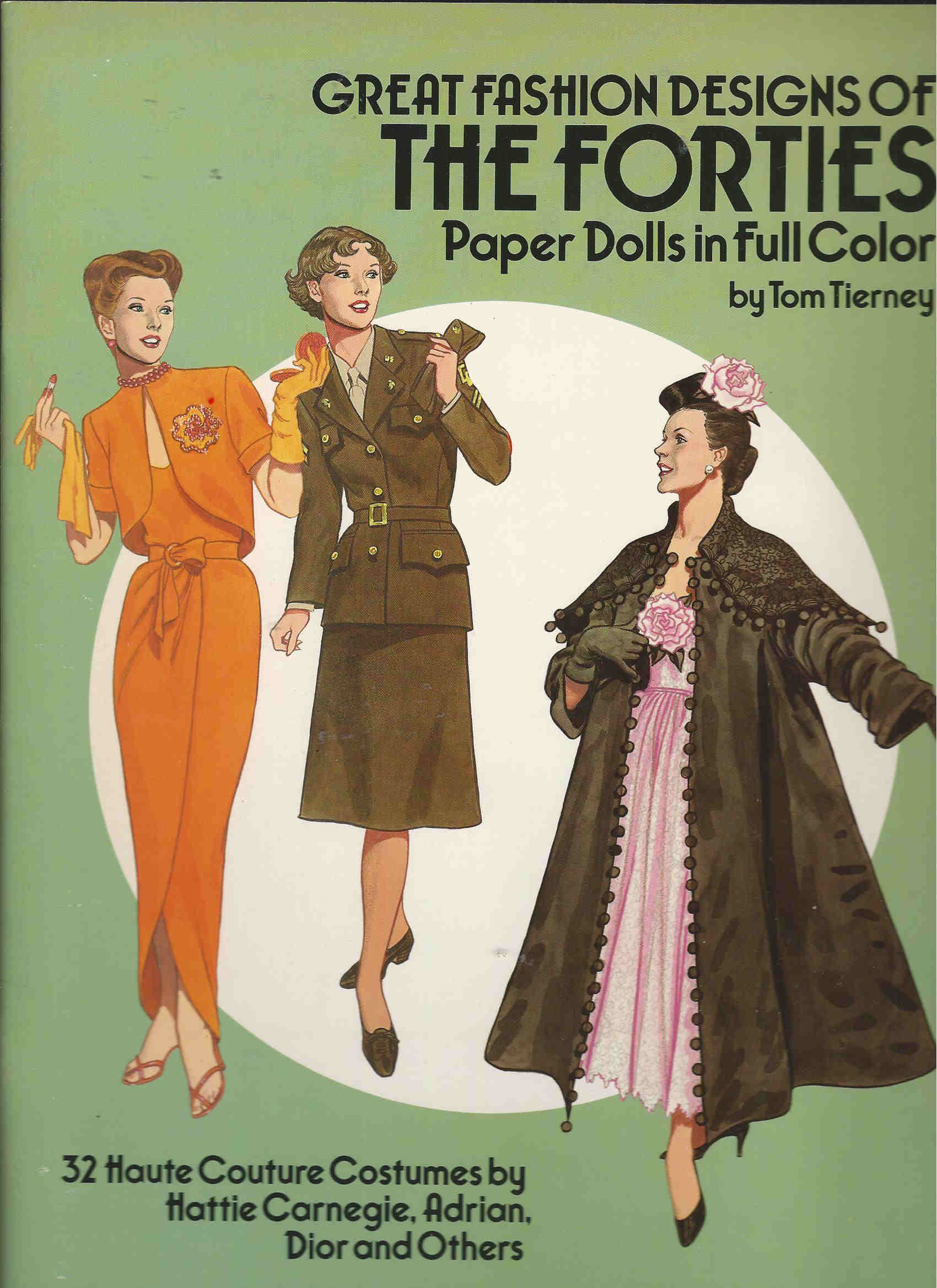 tom tierney fashion paper dolls