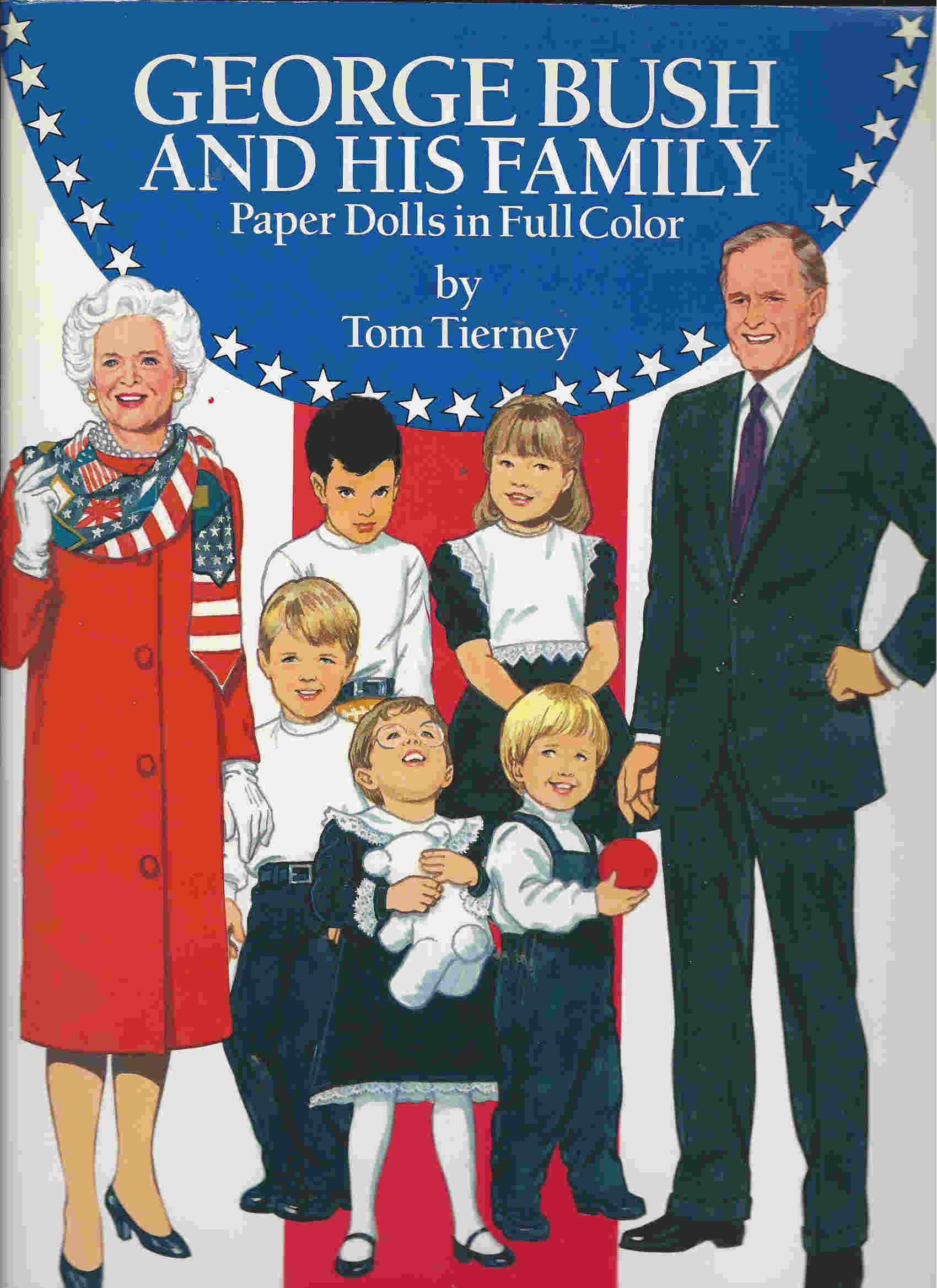 tom tierney president bush family paper dolls