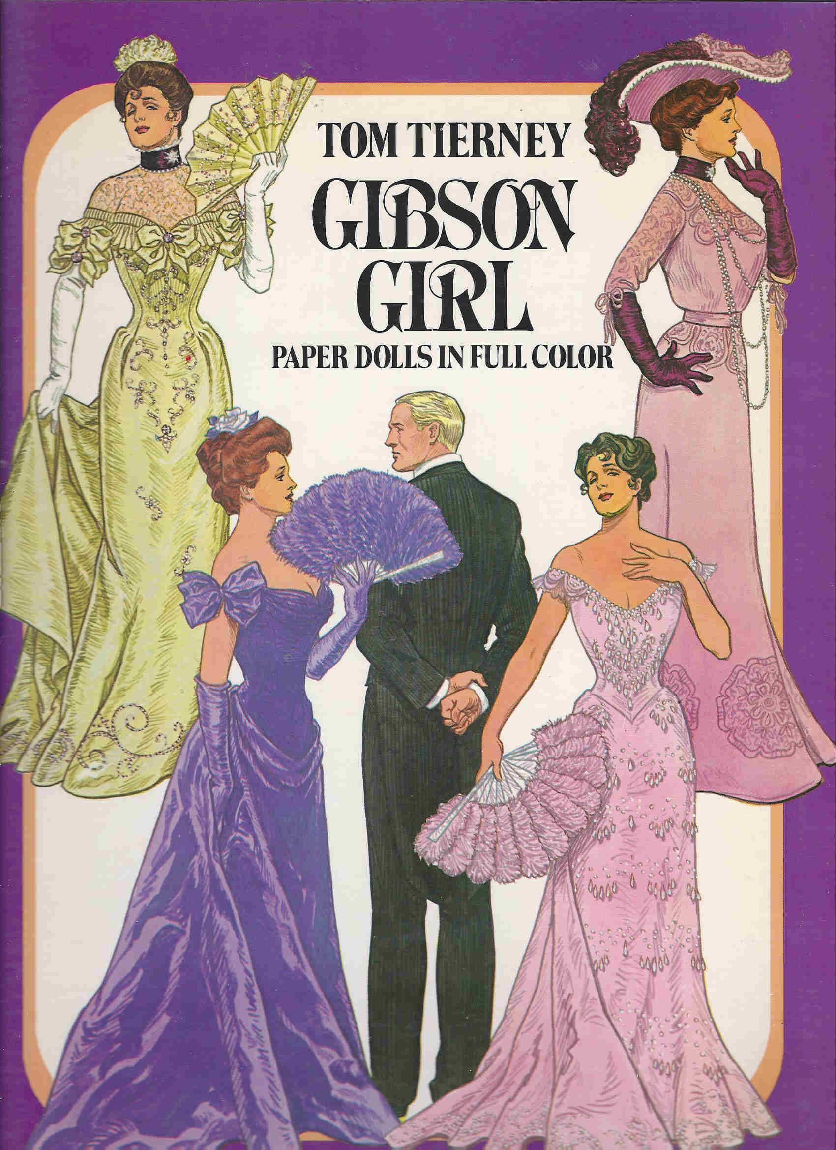 gibson girl paper dolls tom tierney