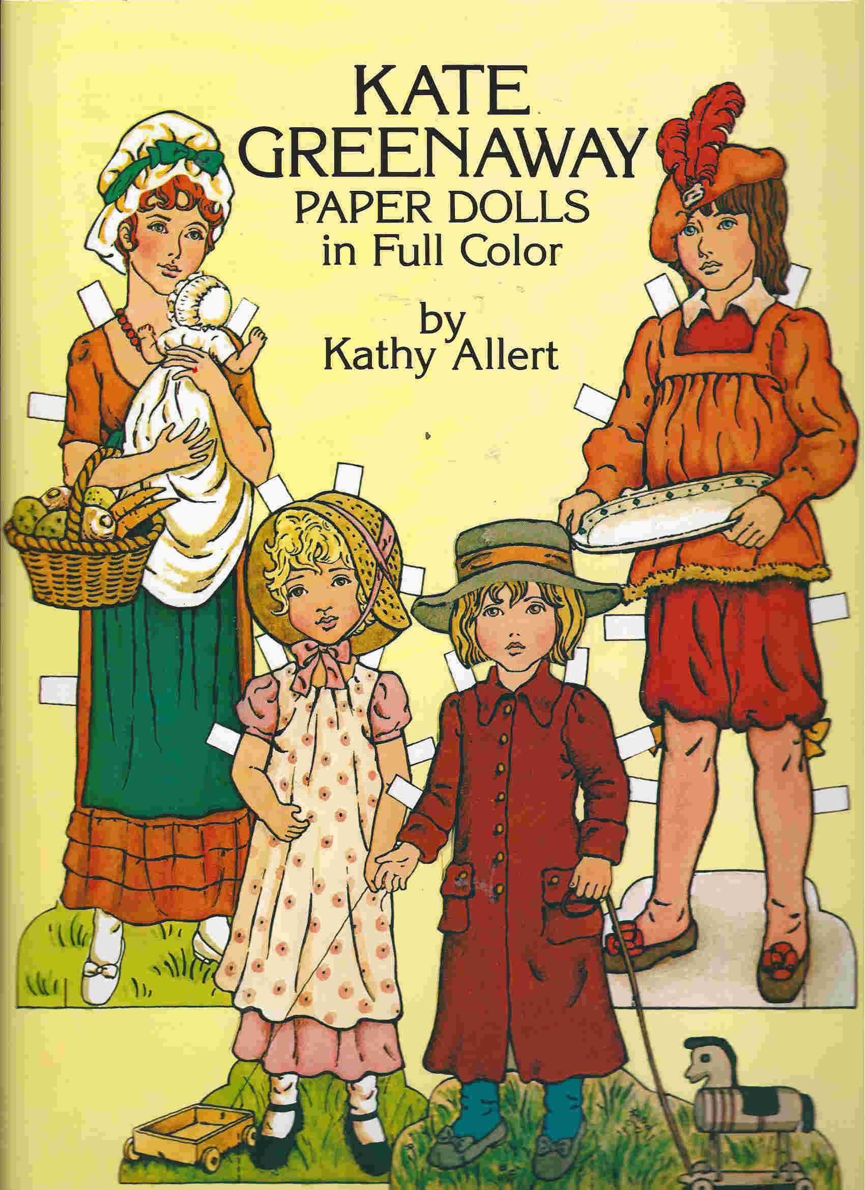 kate greenway paper dolls