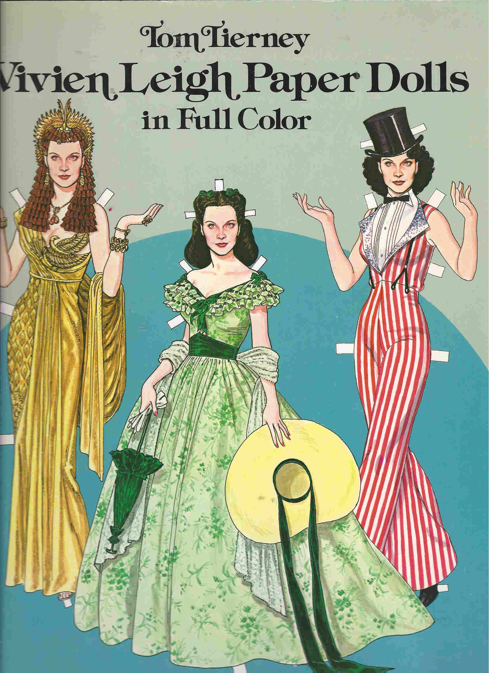 tom tierney vivien leigh paper dolls