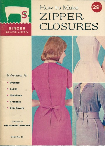singer sewing book