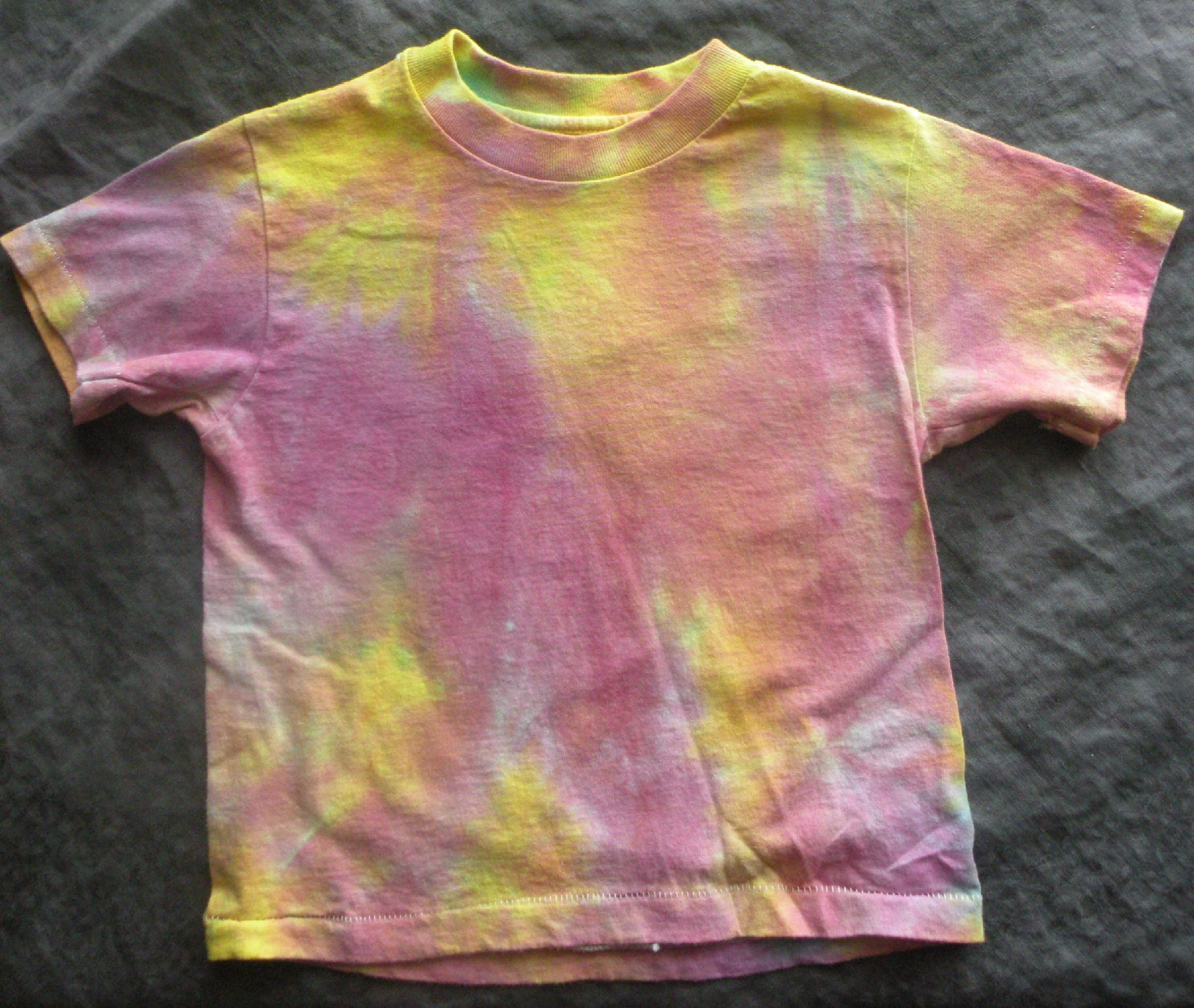 hand-dyed t-shirt