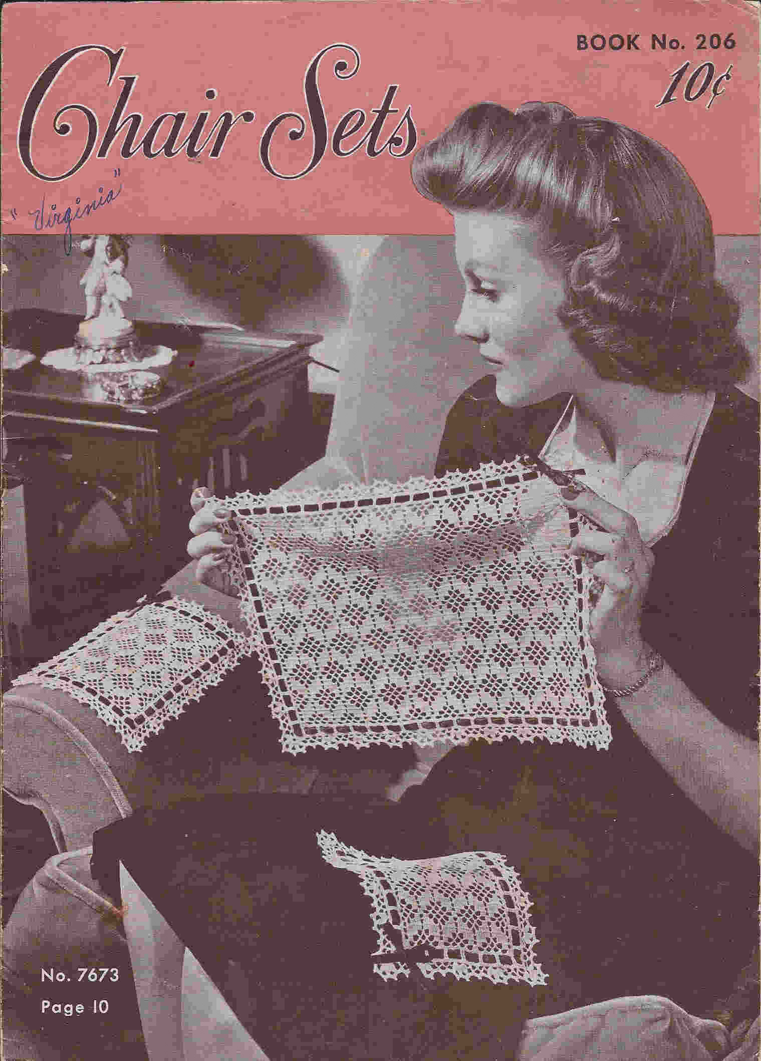 chair set crochet pattern