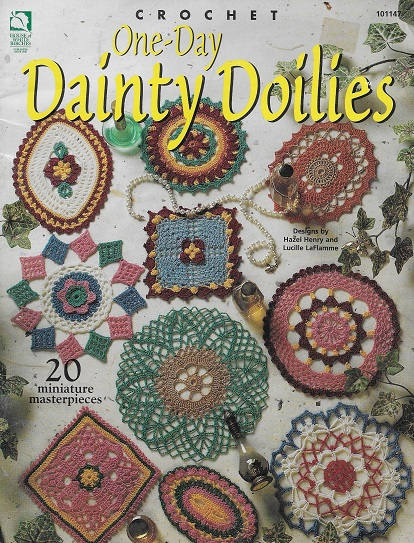 doilies miniature crochet pattern