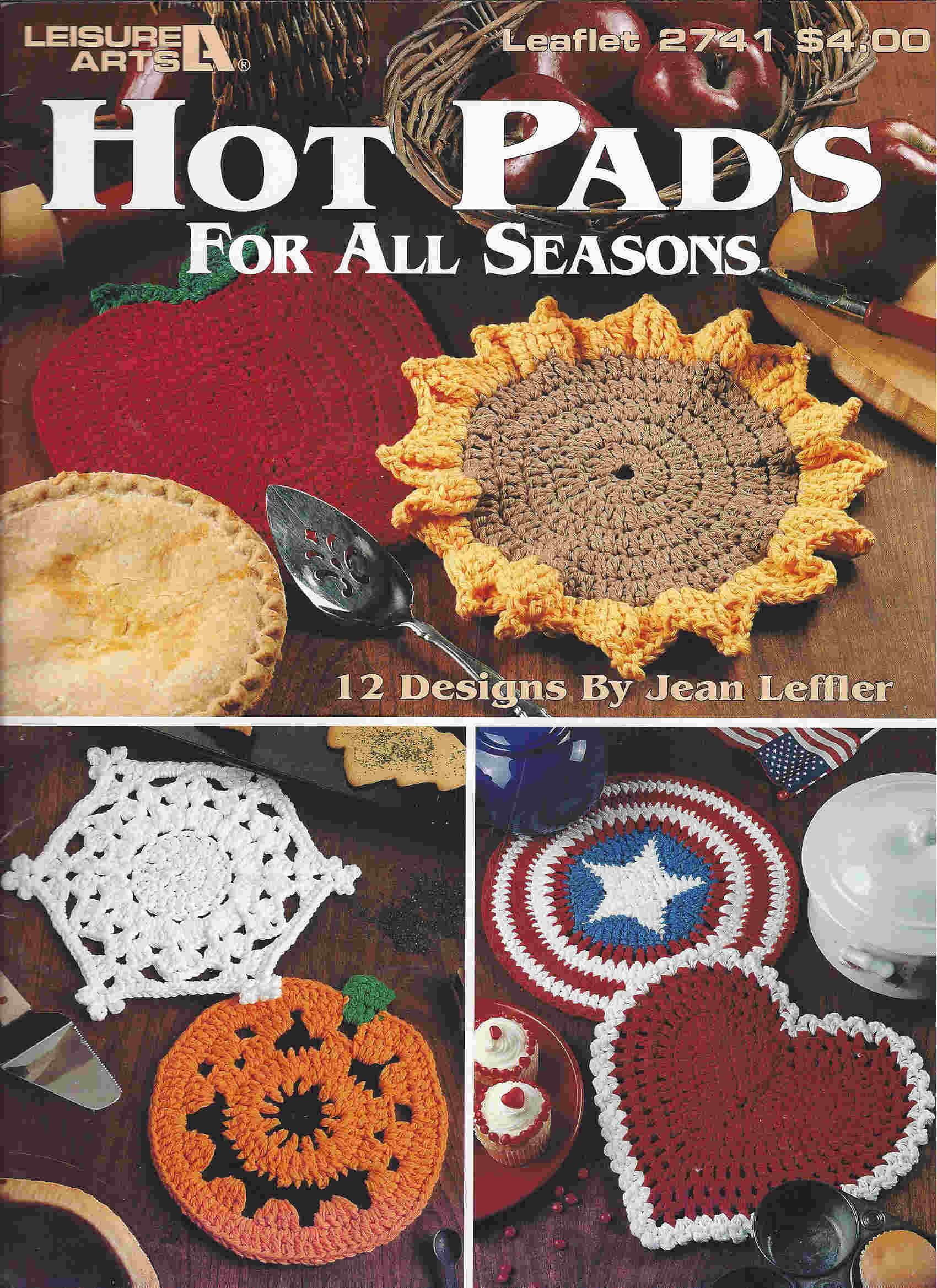 hot pad crochet pattern
