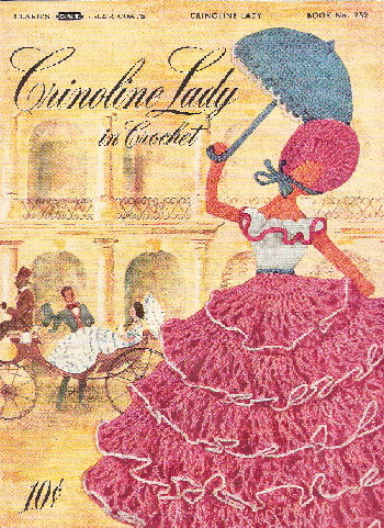 crochet crinoline lady pattern