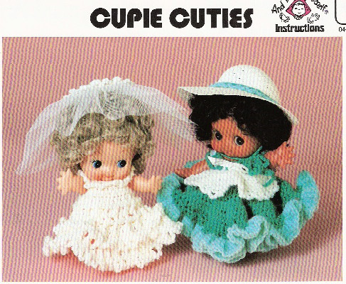 Cupie Doll crochet pattern