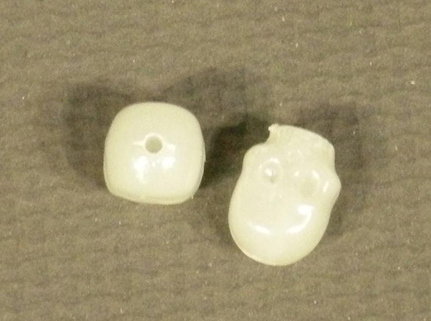 skull bead
