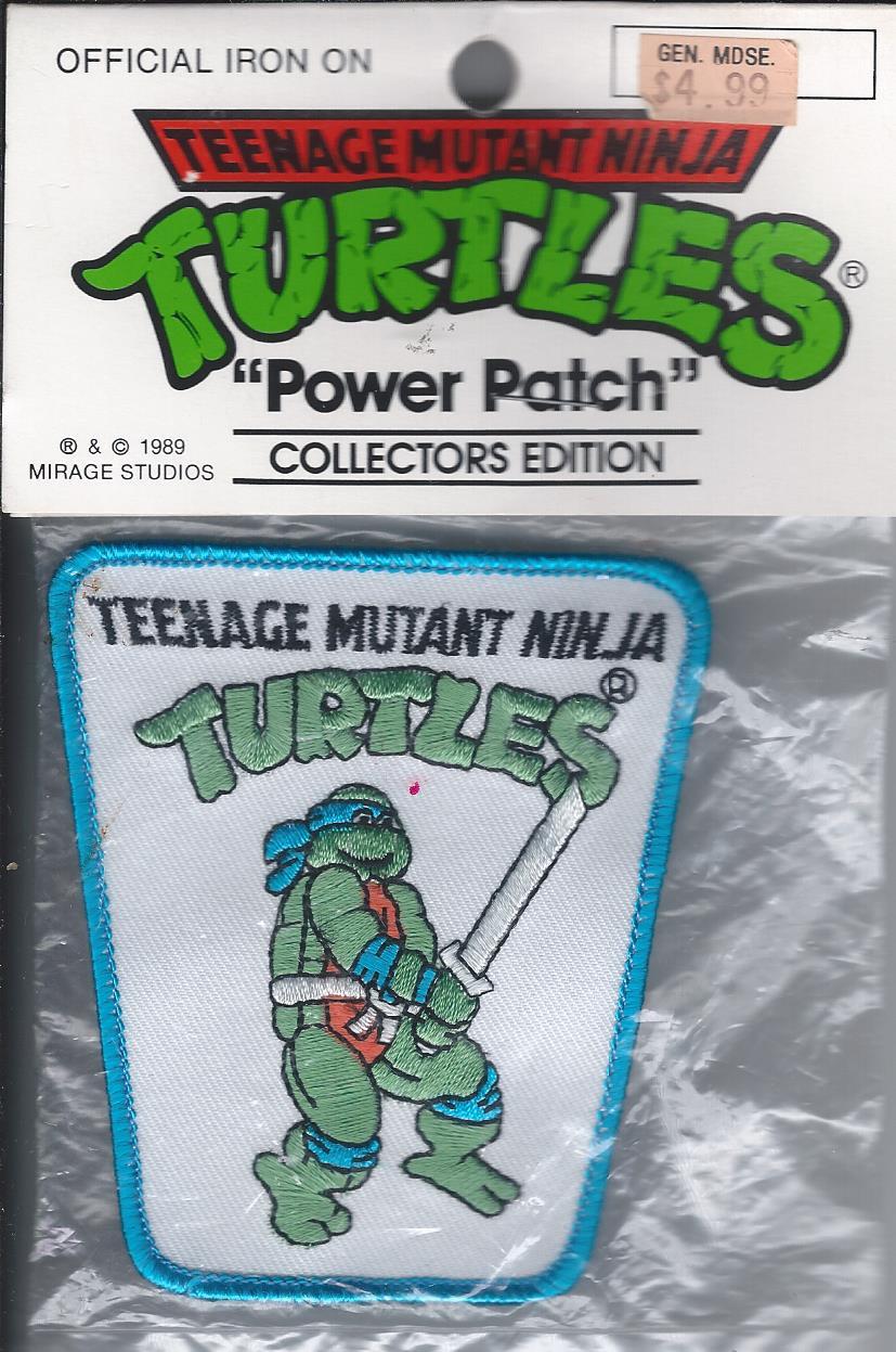 Teenage Mutant Ninja Turtle patch