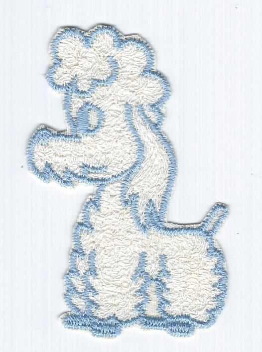 French Poodle patch