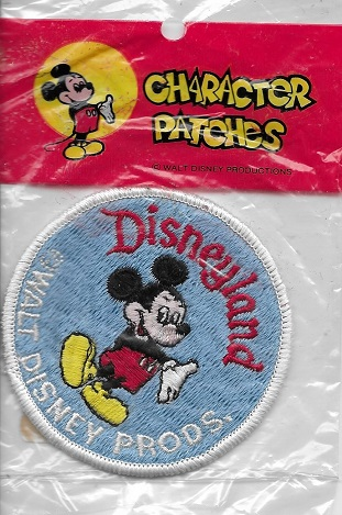 Mickey Mouse patch