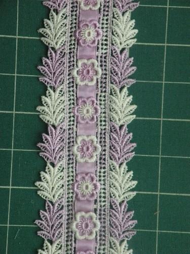 lavender ribbon lace