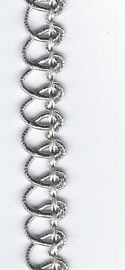 Silver Loop Trim