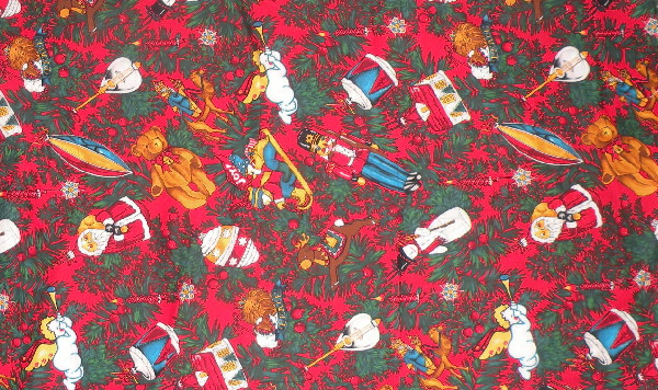 christmas ornament alexander henry fabric