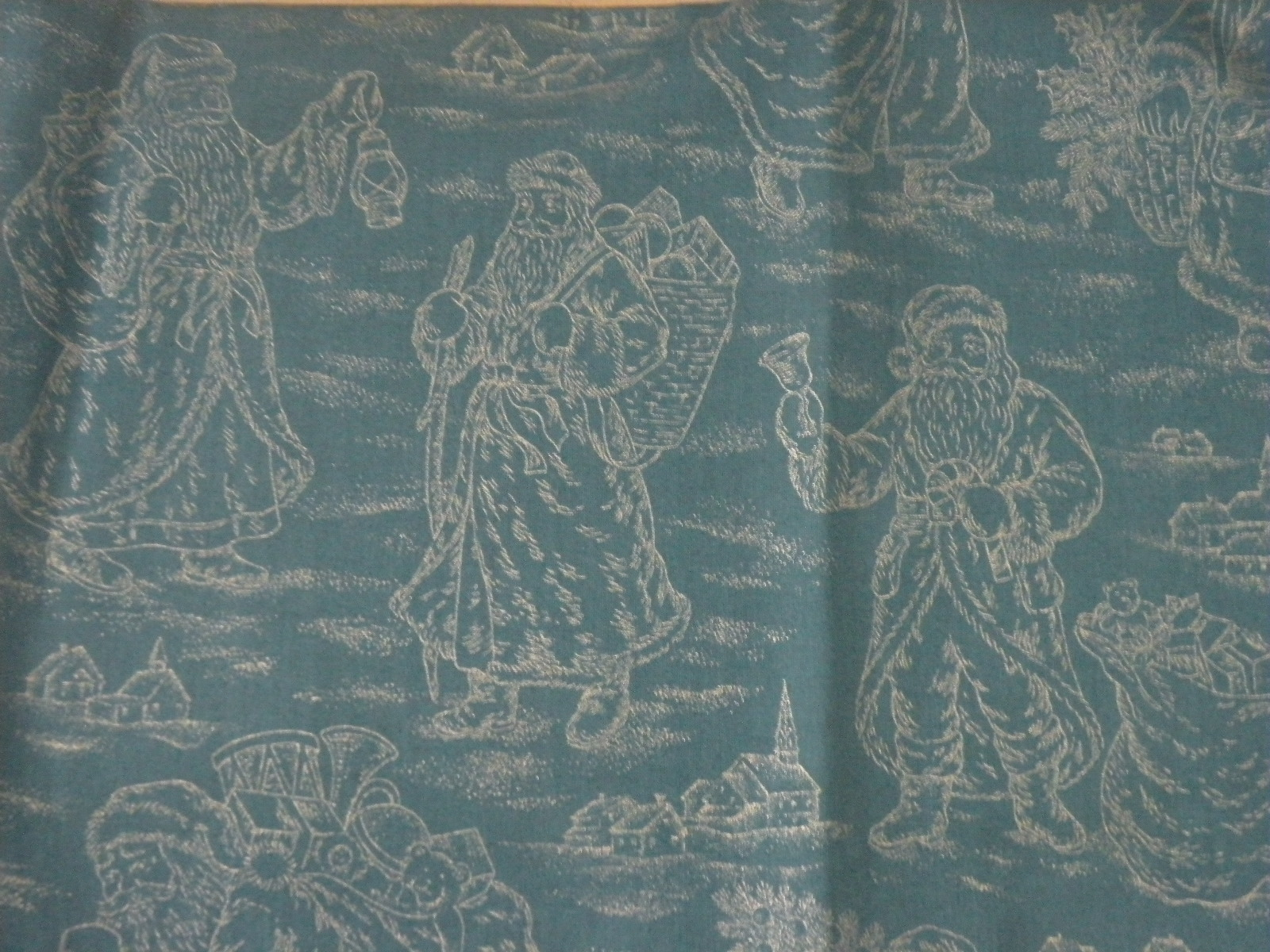 father christmas fabric