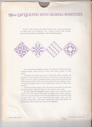 quilt templates