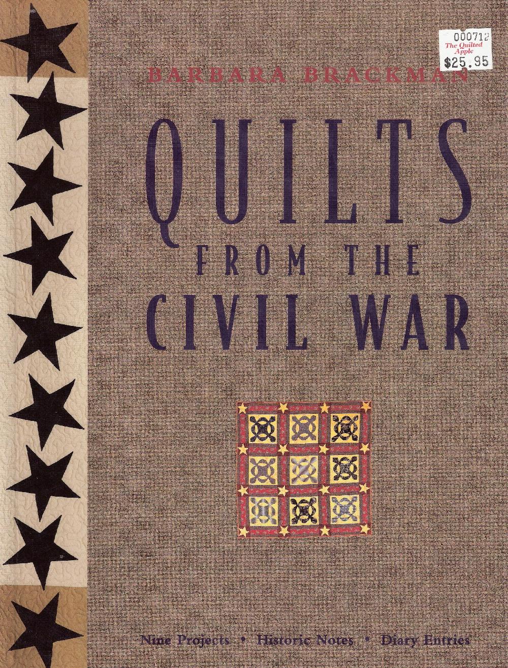 civil war quilts brackman BOOK